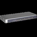 Netgear XS716E ProSAFE 10-Gigabit Ethernet Web Managed (Plus) Switch 16 x 10-Gigabit Copper with one combo copper/SFP+ Fiber port (Web Managed)