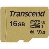 TRANSCEND 16 GB microSDHC I, C10, U3, V30