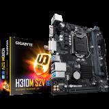 GIGABYTE Main Board Desktop Intel H310 (S1151v2, 2xDDR4, Realtek ALC887, 1x10/100/1000 Mbit, 1xPCIEX16, 1xPCIEX1, 4xSATA 6Gb/s, 1xPS/2, 1xD-Sub, 1xDVI-D, 2xUSB3.1Gen1, 4xUSB2.0, 1xRJ-45) mATX, Retail