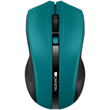 CANYON 2.4GHz wireless Optical Mouse with 4 buttons, DPI 800/1200/1600, Green, 122*69*40mm, 0.067kg