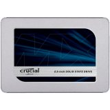 "CRUCIAL MX500 500GB SSD, 2.5"" 7mm (with 9.5mm adapter), SATA 6 Gbit/s, Read/Write: 560 MB/s / 510 MB/s, Random Read/Write IOPS 95K/90K"