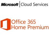 Microsoft Office 365 Home Premium 32-bit/x64 Croatian Subscription 1 License Eurozone Medialess 1 Year