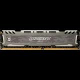 CRUCIAL 8GB DDR4 3000MHz NON-ECC UDIMM Ballistix Sport LT Gray