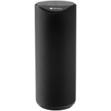 CANYON Bluetooth Speaker, BT V5.0, Jieli AC6925B, Built in microphone, TF card support, 3.5mm AUX, micro-USB port, 1200mAh polymer battery, Black, cable length 0.5m, 65*65*165mm, 0.326kg