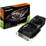 GIGABYTE Video Card NVidia GeForce GTX 1660 Ti GDDR6 6GB/192bit, 1845MHz/12000MHz, PCI-E 3.0 x16, HDMI, 3xDP, WINDFORCE 2X Cooler (Double Slot) Backplate, Retail