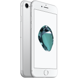 Apple iPhone 7 32GB Silver (4.7-inch, Retina HD display, Multi-Touch display with IPS technology, 1334x750 at 326 ppi, EarPods, 3D Touch, A10/M10 chip, Apple iOS 10, 12MP iSight, FaceTime HD Camera 7MP, LTE) Splash, Water and Dust Resistant