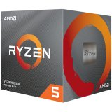 AMD CPU Desktop Ryzen 5 6C/12T 1600 (3.4/3.6GHz Boost,19MB,65W,AM4) box, with Wraith Spire 95W cooler