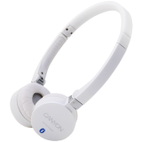 Canyon Bluetooth Headset; color: white; Working Frequency:2.4GHz;  Impedance: 32 Ω;  Frequency Response: 20Hz-20kHz ; Sensitivity: 106 dB