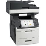 LEXMARK MX711DE LASER MFP,Laser Printer/Scan/Copy/Fax, Up to 66ppm,4.0 sec., Copy speed 66cpm, 1200x1200dpi, ADF 150-sheet, Scan resolution 600x600dpi, CPU 800MHz, 1024MB, Fax 33.6 Kbps, Standard Duplex, Duty Cycle 300.000 pages/month