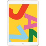 Apple 10.2-inch iPad 7 Wi-Fi 32GB Gold (Retina Display, LED‑backlit Multi‑Touch display, 2160-by-1620 resolution at 264 (ppi), Touch ID, A10, iPadOS, 8 MPX Camera, 1.2 MPX Face Camera)