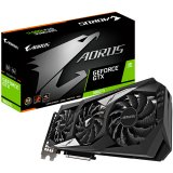 GIGABYTE Video Card NVidia GeForce GTX 1660 Ti AORUS GDDR6 6GB/192bit, 1890MHz/12000MHz, PCI-E 3.0 x16, HDMI, 3xDP, WINDFORCE 3X Cooler (Double Slot) RGB Fusion, Metal Backplate, Retail