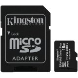 Kingston 16GB micSDHC Canvas Select Plus 100R A1 C10 Card + ADP EAN: 740617297300
