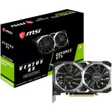 MSI Video Card NVidia GeForce GTX 1650 SUPER VENTUS XS OC GDDR6 4GB/128bit, 1740/12000MHz, PCI-E 3.0 x16, DP, HDMI, DVI-D, TORX 2X Cooler(Double Slot) Retail