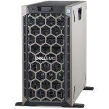 DELL EMC PowerEdge T440 w/8x 3.5, Intel Xeon Silver 4208 2.1G, 8C/16T, 9.6GT/s, 11M Cache, Turbo, HT (85W), 16GB RDIMM 2666MT/s, 600GB 10K RPM SAS 2.5in Hot-plug, PERC H730P RAID, iDRAC9 Enterpr., 2x RPS 750W, TPM 2.0, DP 1GbE On-Board LOM, 3YNBD