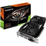 GIGABYTE Video Card NVidia GeForce GTX 1650 SUPER GDDR6 4GB/128bit, 1725MHz/12000MHz, PCI-E 3.0 x16, HDMI, DP, DVI-D, WINDFORCE 2X Cooler (Double Slot),  Retail