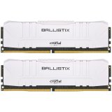 Crucial Ballistix 2x16GB (32GB Kit) DDR4 2666MT/s CL16  Unbuffered DIMM 288pin White 649528824523