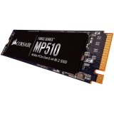 Corsair SSD 480GB Force MP510 M.2 2280 NVMe PCIe (čtení/zápis: 3480/2000MB/s; 360/440K IOPS)