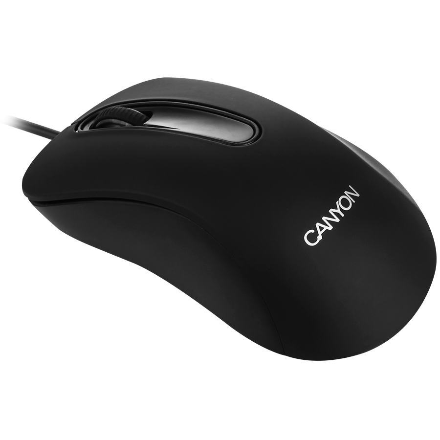 Canyon Mouse Cne Cms2 Wired Optical 800 Dpi 3 Btn Usb Black